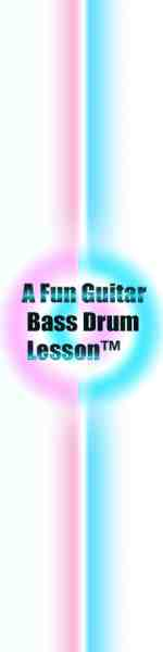 A Fun Guitar Bass Drum Lesson dotcom logo